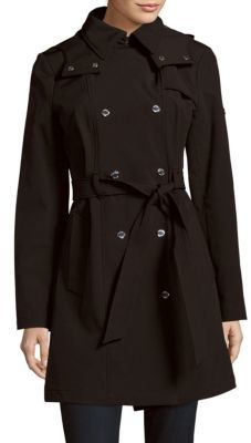 Calvin Klein Hooded Trenchcoat
