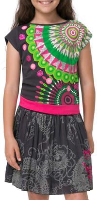 Desigual Glittered & Sequined Dress
