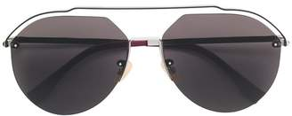 Fendi Eyewear aviator frame sunglasses