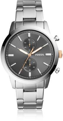 Fossil Townsman 44mm Chronograph Stainless Steel Men's Watch