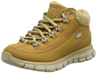 ... Skechers Synergy - Strong Will, Girls' Ankle Boots, Beige (Wheat Gold)