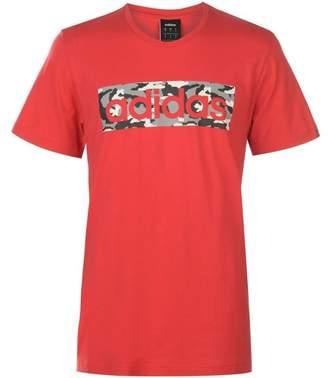 Camo Logo T Shirt Mens