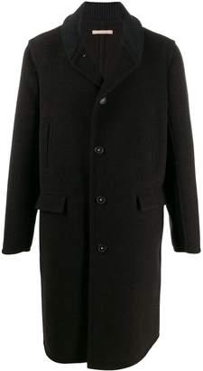 Massimo Alba knit collar coat