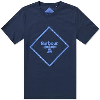 Barbour Beacon Large Logo Tee