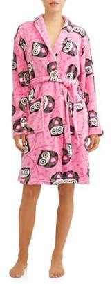 Mayfair Women's Ladies Velvet Robe
