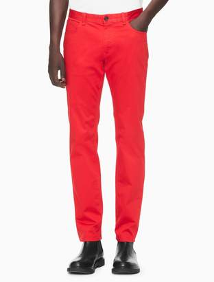 Calvin Klein new essentials slim fit 5-pocket pants