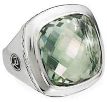 David Yurman Albion Silver Sage Statement Ring