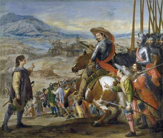 Leonardo Oil Paintings Canvas Prints Oil painting 'Leonardo Jusepe Socorro de Brisach 1634 35 ' printing on Perfect effect canvas , 20 x 24 inch / 51 x 60 cm ,the best Garage decor and Home decor and Gifts is this Reproductions Art Decorative Prints on Canvas