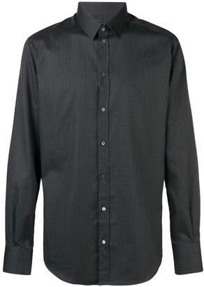 Dolce & Gabbana micro dots printed shirt