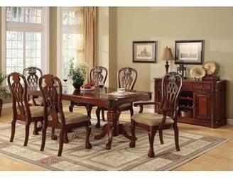 Astoria Grand Robena Formal Solid Wood Dining Table Astoria Grand