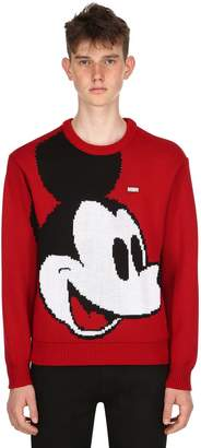 Blend of America Mickey Mouse Wool Knit Sweater