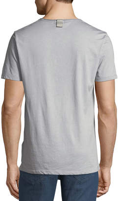 Antony Morato Men's Star-Patch Vintage Wash T-Shirt