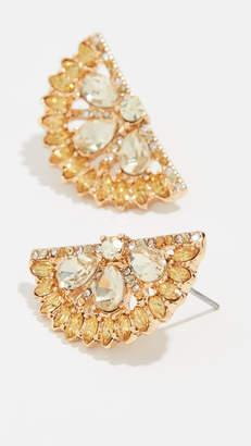 BaubleBar Lemon Slice Earrings
