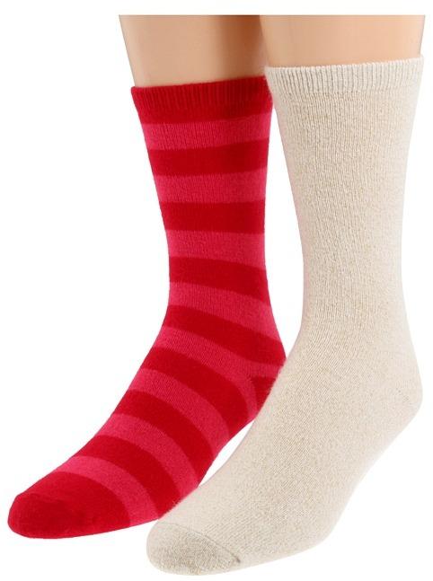 Kate Spade Stripe (2 Pack) (Geranium) - Footwear