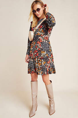 Kachel Adrienne Ruffled Mini Dress