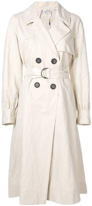 Forte Forte balloon sleeve trench coat