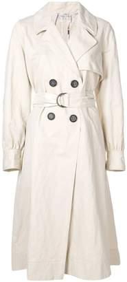 Forte Forte balloon sleeve trench coat