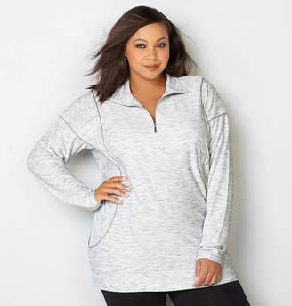Avenue Textured Pullover Active Top
