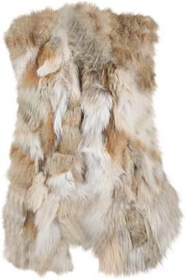 Jenni Kayne Brown Fur Coats