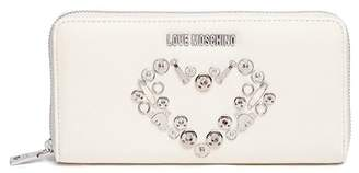 Love Moschino Pin Heart Wallet