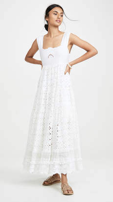 Place Nationale Le Crescent Broderie Anglaise Sun Dress