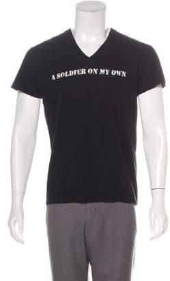 Christian Dior Graphic Print Short Sleeve T-Shirt
