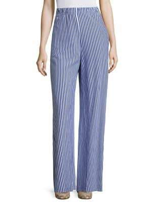 MDS Stripes Pia Palazzo Striped Pants