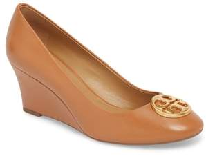 Tory Burch Chelsea Logo Medallion Wedge