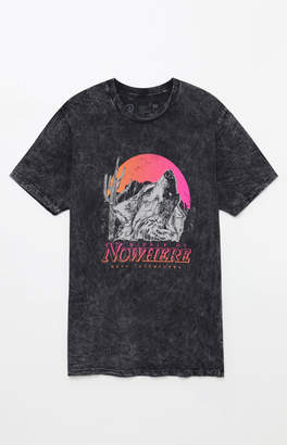 Neff Nowhere Mineral Wash T-Shirt
