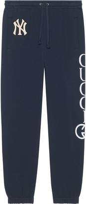 Gucci Cotton jogging pant with NY YankeesTM patch
