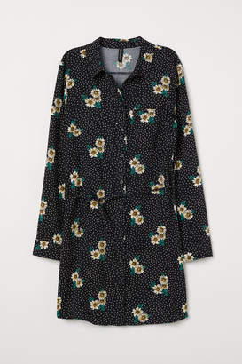 H&M Shirt Dress - Black