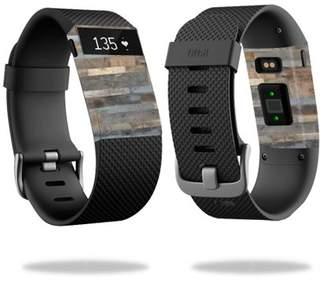 Fitbit Mightyskins Skin Decal Wrap for Charge HR cover skins sticker watch Barnwood