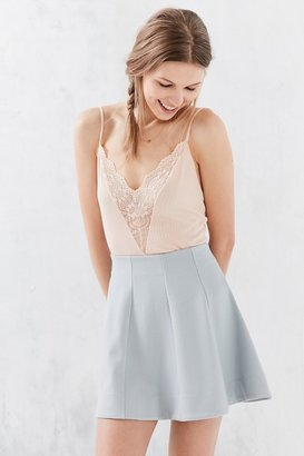 Kimchi Blue Flirt With Me Seamed Skirt $49 thestylecure.com