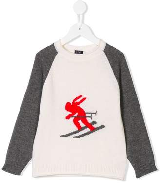 Il Gufo ski motif jumper