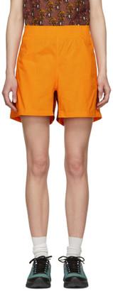 Wales Bonner Orange Football Shorts