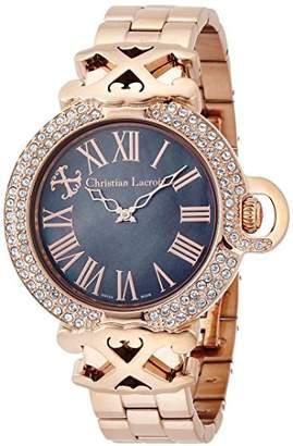 Christian Lacroix (クリスチャン ラクロワ) - [クリスチャン・ラクロア]CHRISTIAN LACROIX 腕時計クォーツ C CLW8002412SM レディース 【正規輸入品】