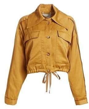 Rachel Comey Embed Satin Cargo Jacket