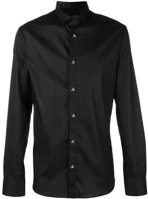 Philipp Plein skull buttoned shirt