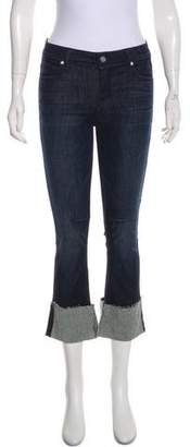 RtA Denim Mid-Rise Straight-Leg Jeans w/ Tags