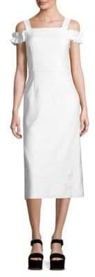 Mother of Pearl Rowena Cold-Shoulder Dress