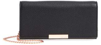 Ted Baker Leather Wallet On A Chain