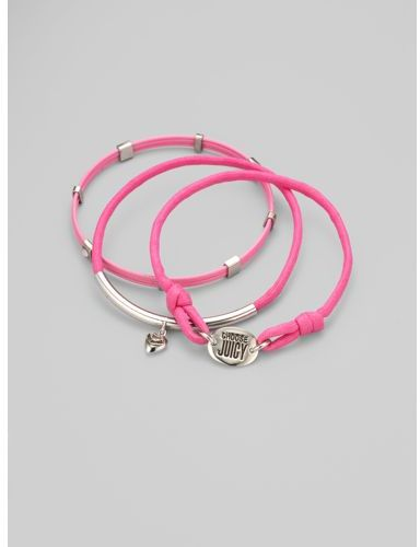 Juicy Couture Three Icons Bangle Set