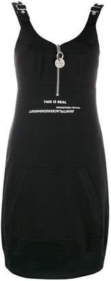 Diesel sleeveless sweatshirt dress