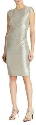 Ralph Lauren Metallic Sequin Dress