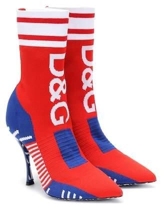 Dolce & Gabbana Lori knitted sock boots