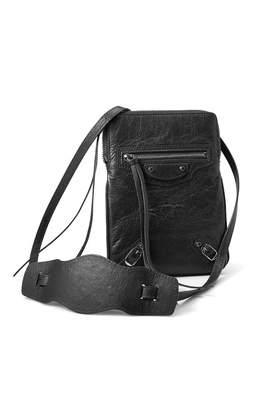 Balenciaga Leather Clutch Bag