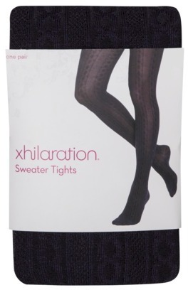 Xhilaration Juniors Fashion Layering Tights - Assorted Colors/Patterns