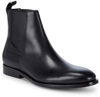 Balenciaga Men's Slip-On Leather Chelsea Boots