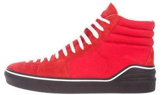 Givenchy Suede High-Top Sneakers w/ Tags