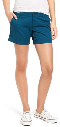 Volcom 'Frochickie' Cotton Shorts $39.50 thestylecure.com